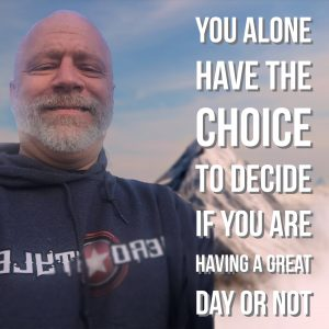 Our solution based coaching style will help you realize that you alone have the choice to decide if you are having a great day or not.