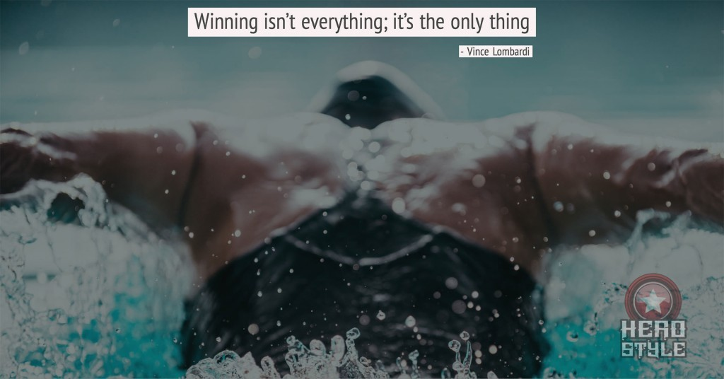 winners know winning isn't everything; it's the only thing